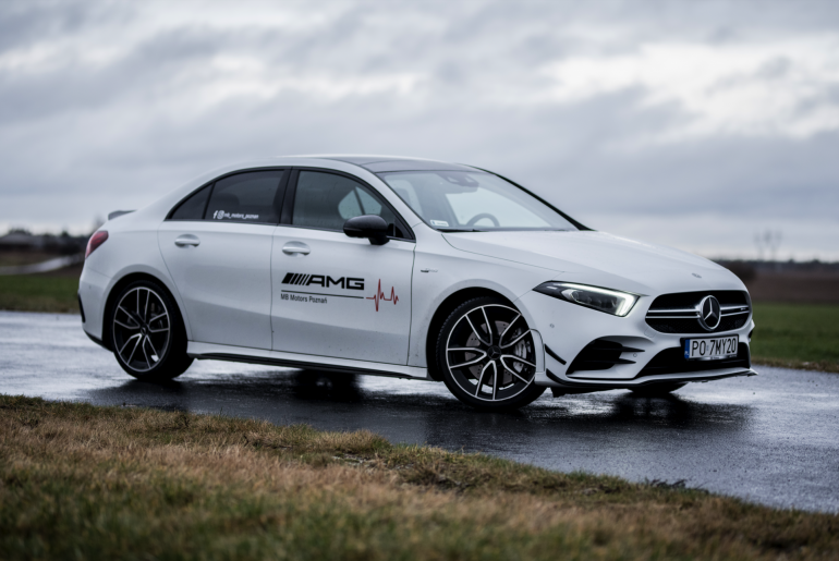 #Pocket_Rocket –  Mercedes AMG A35